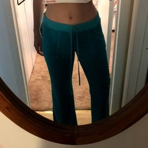 Juice Couture Teal Sweatpants